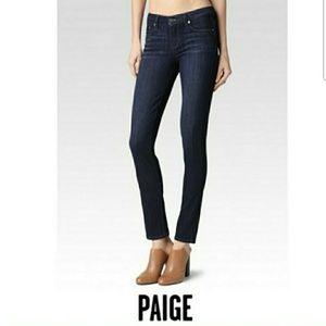 Paige jeans Peg Skinny mid rise.